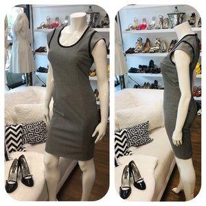 Dolce & Gabbana CapSleeve Houndstooth Pencil Dress